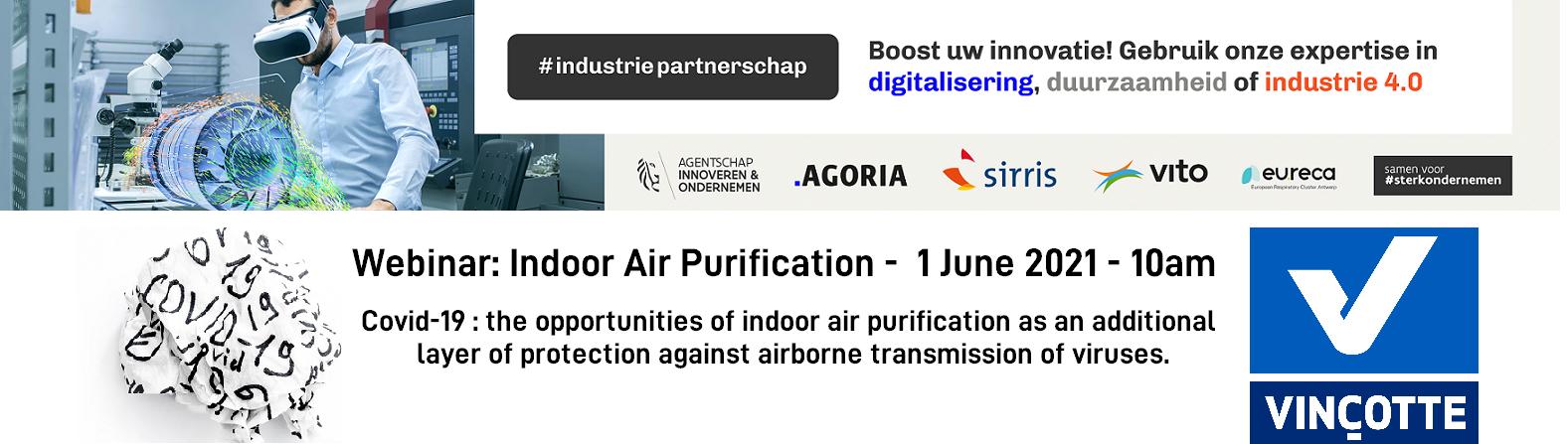 banner webinar air purification